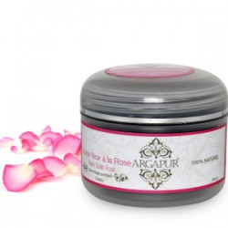 Black soap rose 200g