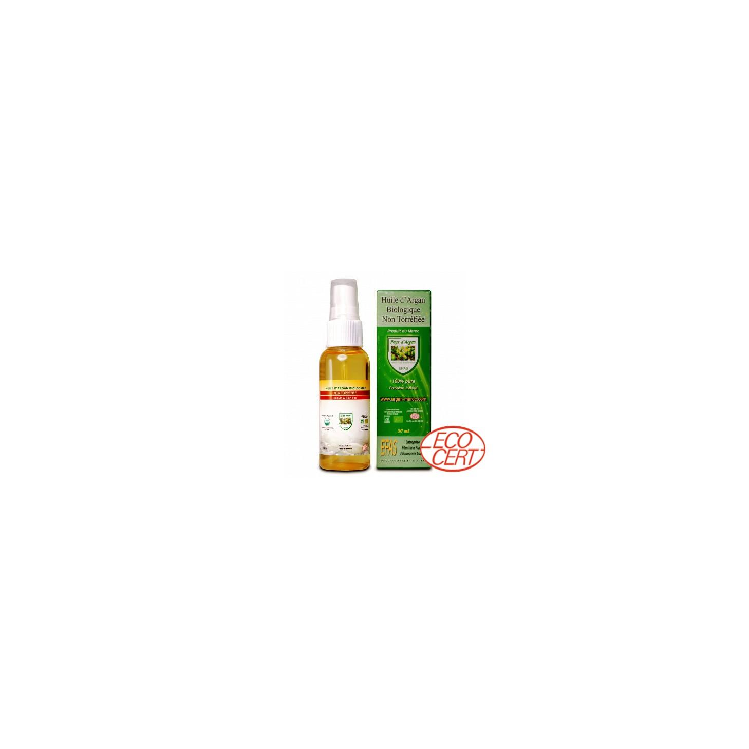 Huile d'argan pure BIO cosmétique EFAS 50ml