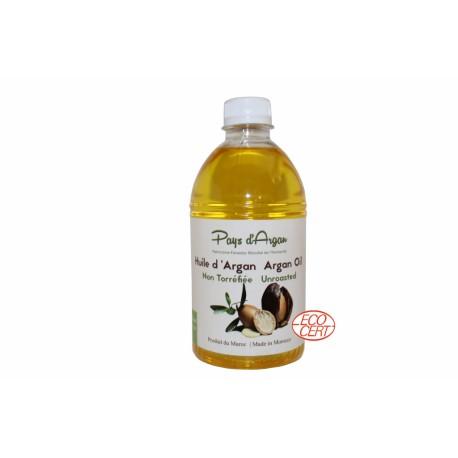 Huile d'argan pure BIO cosmétique 500 ml